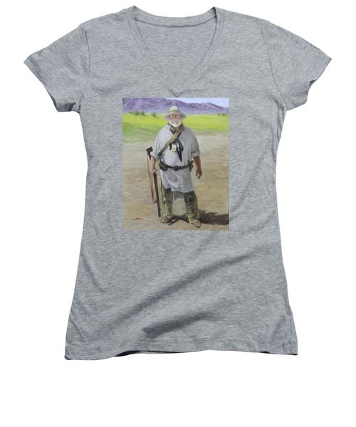 Lost And Found Women's V-Neck