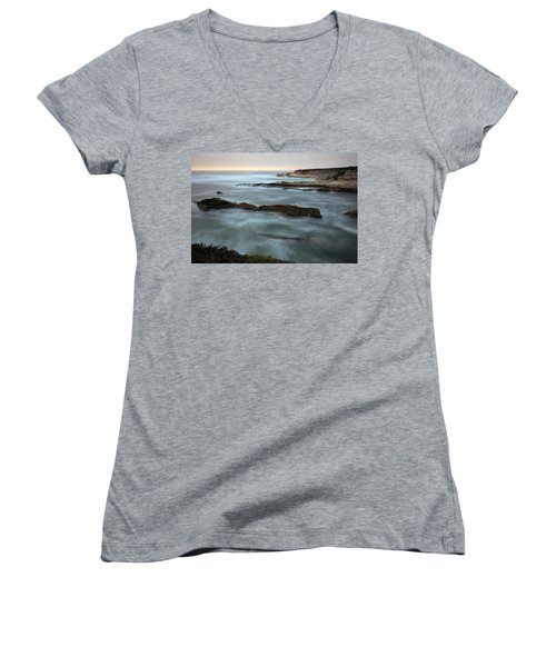 Lost In The Mist Women's V-Neck