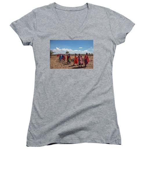 Maasi Women Women's V-Neck