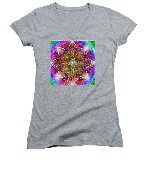 Mandala 12 11 2018 Women's V-Neck