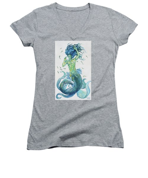 Merman Clyde Women's V-Neck