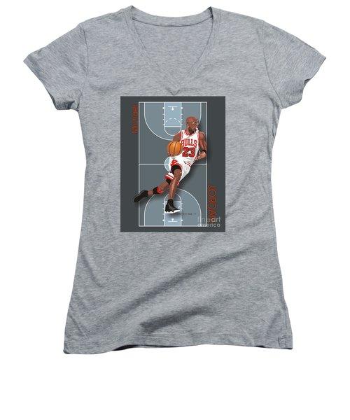 Michael Jordan, No. 23 Women's V-Neck