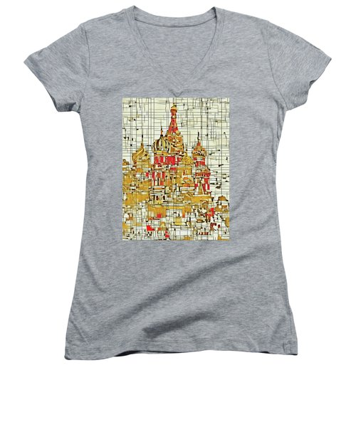 Moscow Women's V-Neck