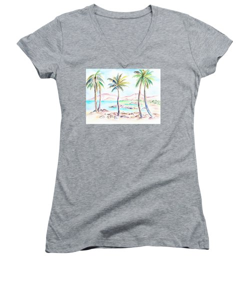 My Island Women's V-Neck