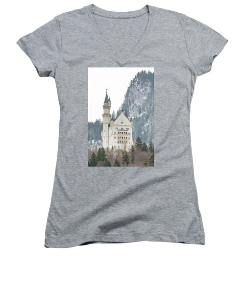 Neuschwanstein Women's V-Neck