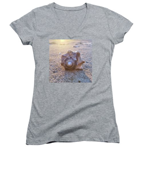 Nuclear Whorl Women's V-Neck