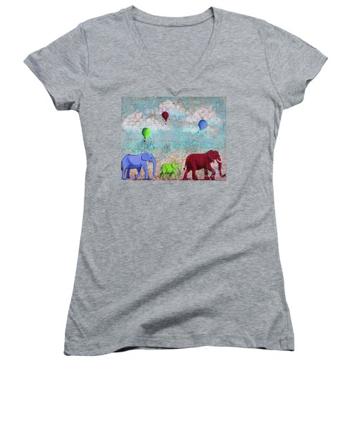 Oh The Places You'll Go Women's V-Neck