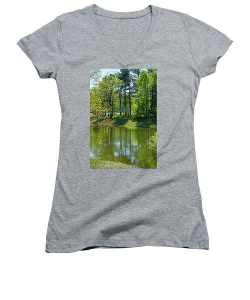 On Golden Pond Women's V-Neck