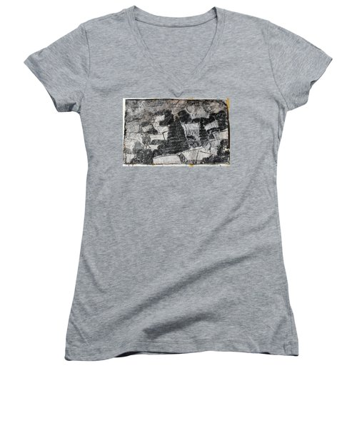 On The Day Of Execution Women's V-Neck