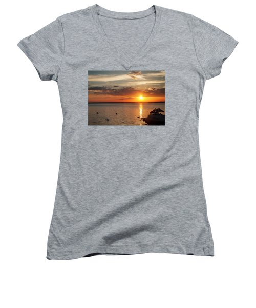 On The Sea Women's V-Neck