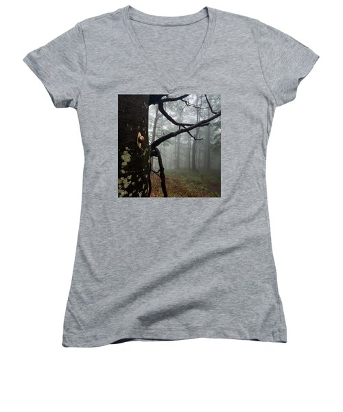 One Day Of The Snail's Life Women's V-Neck