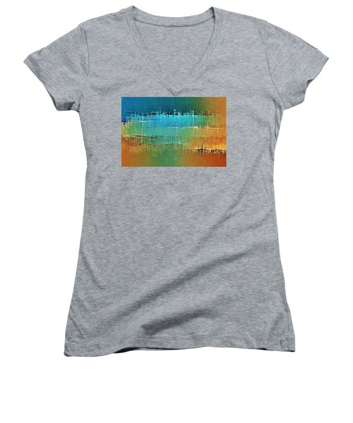 Painted Desert Women's V-Neck