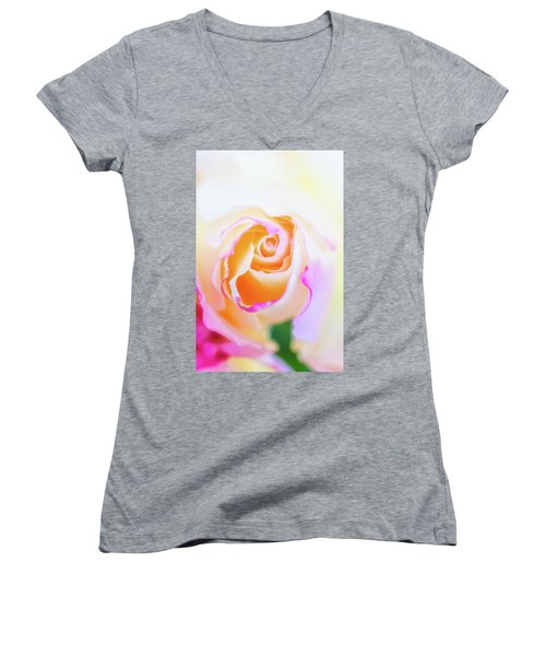 Pastels Women's V-Neck
