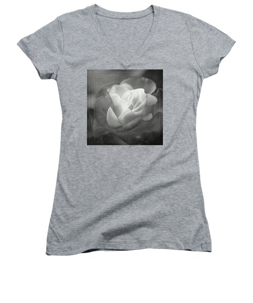 Perfectly Imperfect Monochrome By Tl Wilson Photography Women's V-Neck
