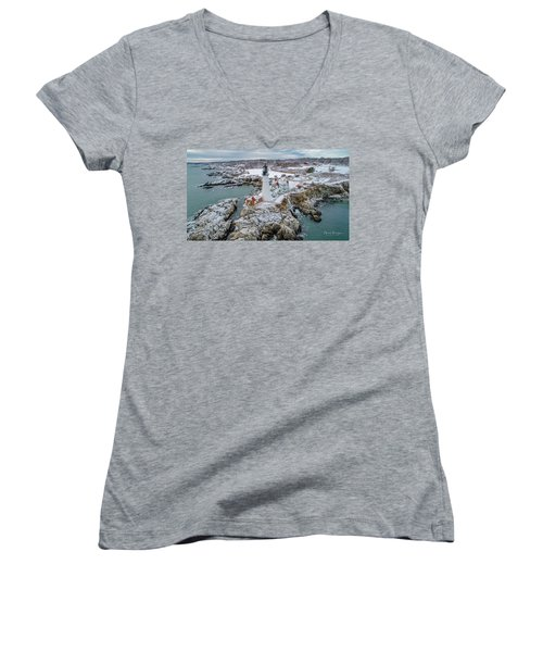Picturesque Maine  Women's V-Neck