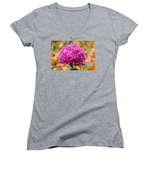Pink Bouquet  Women's V-Neck