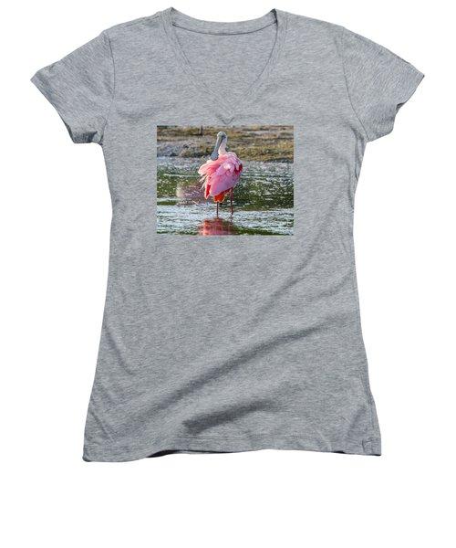 Pink Tutu Women's V-Neck