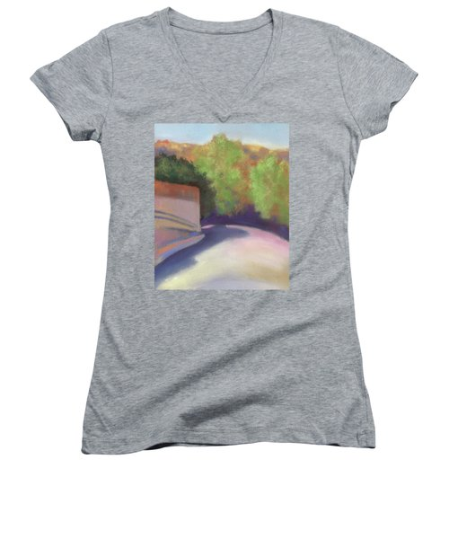 Port Costa Street In Bay Area Women's V-Neck