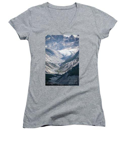 Queen Inlet Glacier Women's V-Neck