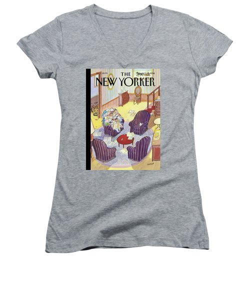 Reading Group Women's V-Neck