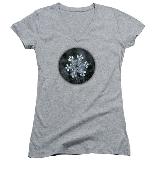Real Snowflake - 26-dec-2018 - 1 Women's V-Neck
