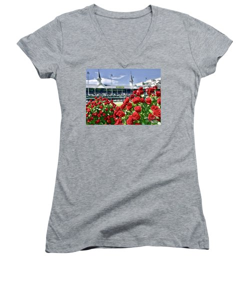 Road To The Roses Women's V-Neck