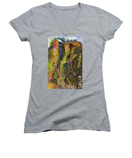 Rock Solid Women's V-Neck