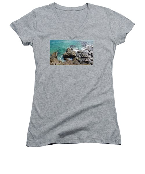 Rocks And Water Women's V-Neck