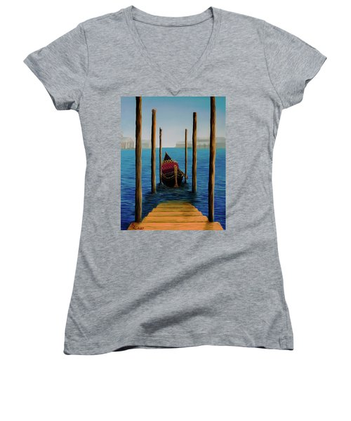 Romantic Solitude Women's V-Neck