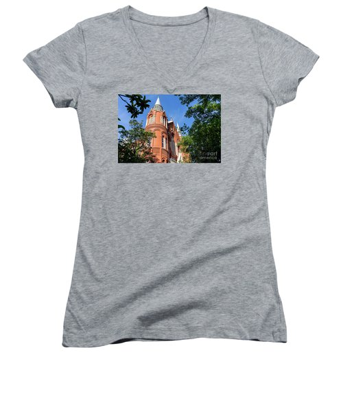 Sacred Heart Cultural Center- Augusta Ga 1 Women's V-Neck