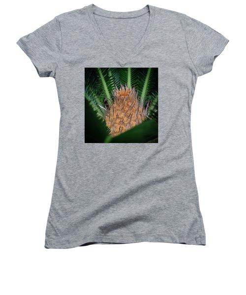 Sago Palm Women's V-Neck