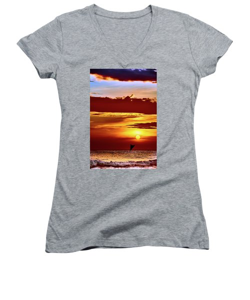 Sail Away... Women's V-Neck