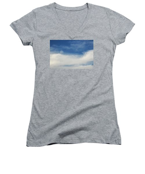 Sailing On A Cloud Women's V-Neck