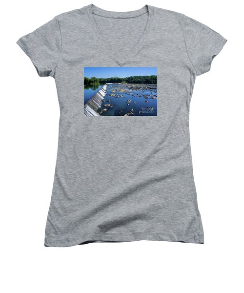 Savannah River Rapids - Augusta Ga 2 Women's V-Neck