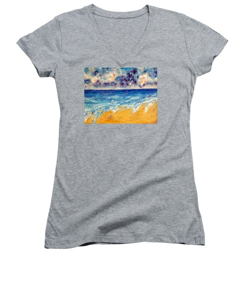 Searching For Rainbows Women's V-Neck (Athletic Fit)