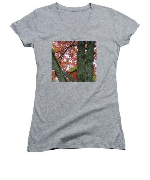 Seeing Autumn Women's V-Neck