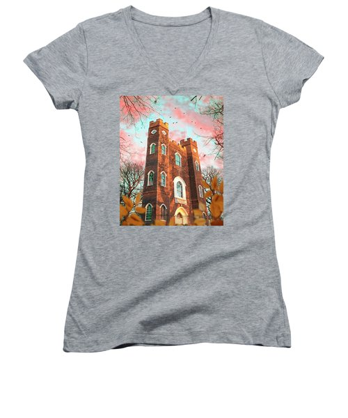 Severndroog Castle Women's V-Neck