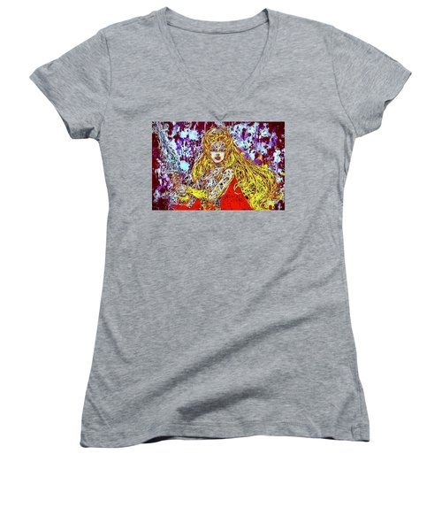 She - Ra Women's V-Neck