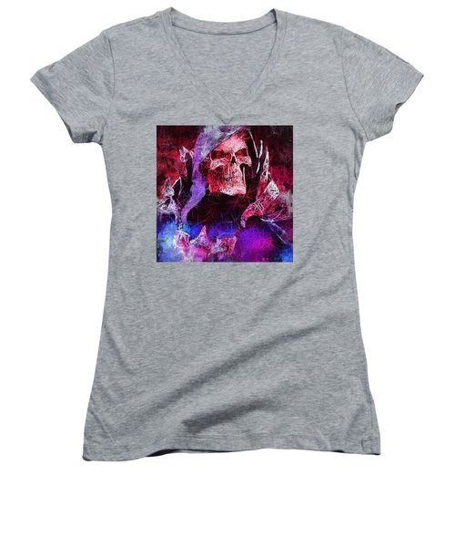 Skeletor Women's V-Neck