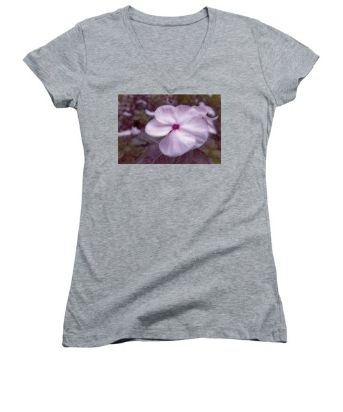 Small Flower Women's V-Neck