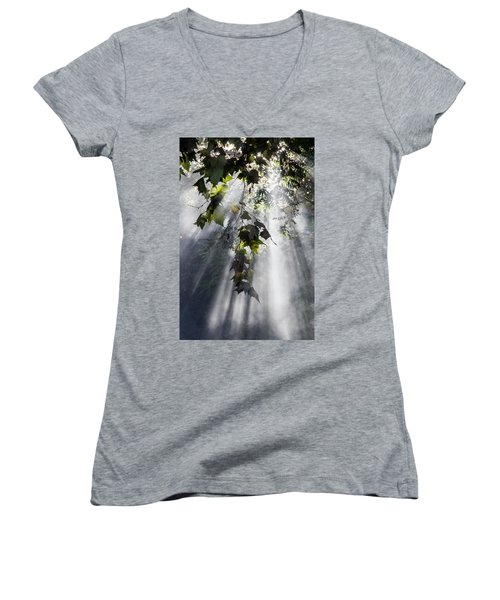 Smoke Gets In Your Skies Women's V-Neck
