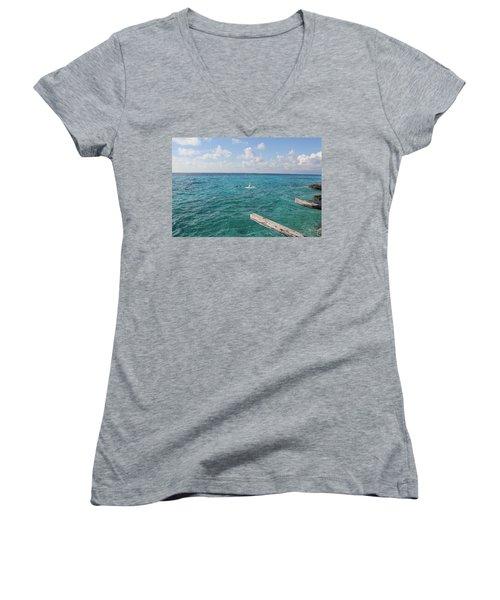Snorkeling Women's V-Neck