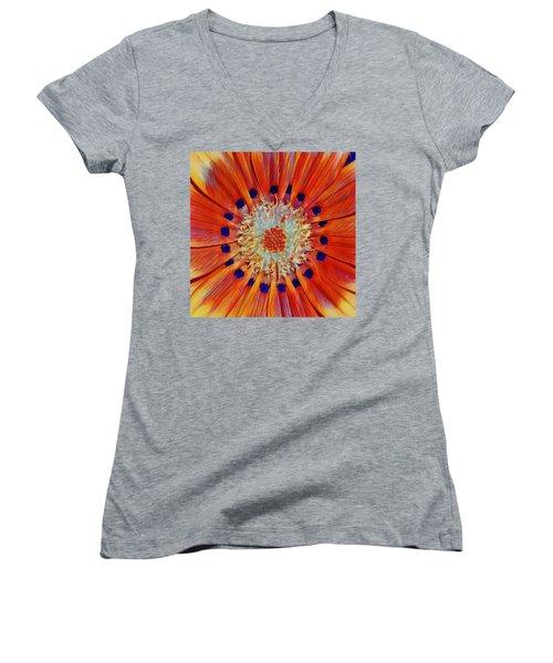 Solar Plexus Bloom Women's V-Neck
