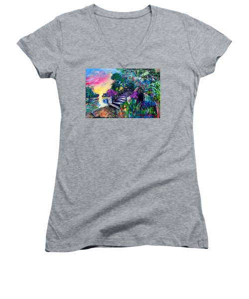Spirit Bridge Two Women's V-Neck