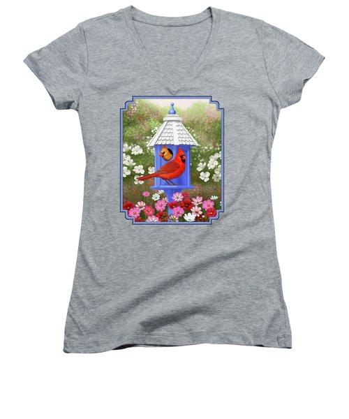 Spring Cardinals Women's V-Neck