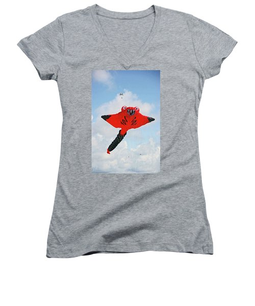 St. Annes. The Kite Festival Women's V-Neck