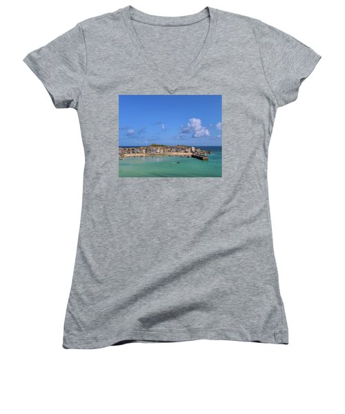 St Ives Cornwall - General View Women's V-Neck
