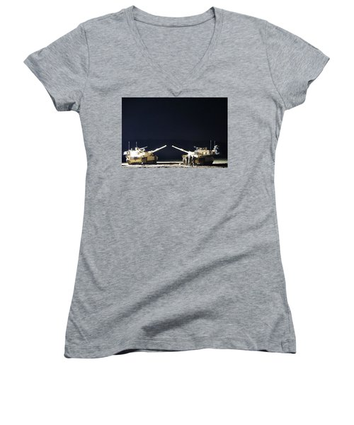 Stars Can Only Shine In Darkness Women's V-Neck