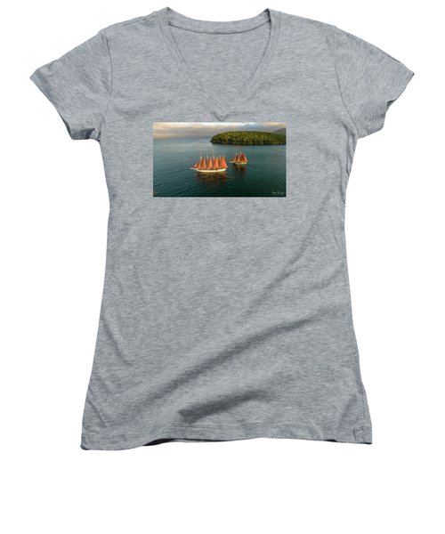 Stay The Course  Women's V-Neck