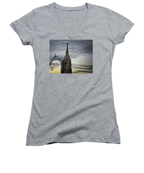Steeple And Steel Women's V-Neck